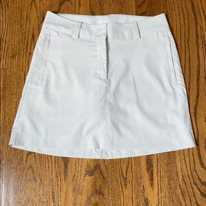 Nike dri fit golf skirt size 4